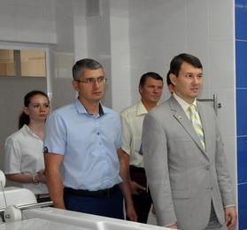 Алексей Цуркан посетил ряд медучреждений Рыбницкого района