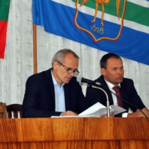 Глава госадминистрации принял участие в работе сессии горсовета (2)