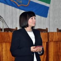 Елена Городецкая вручила Почетные знаки За заслуги в организации выборов (2)