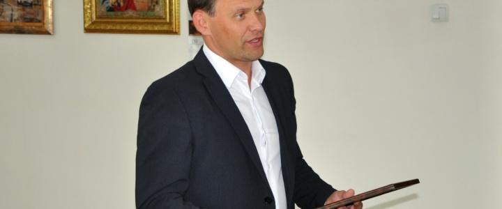 Вячеслав Фролов пообщался с представителями четвёртой власти