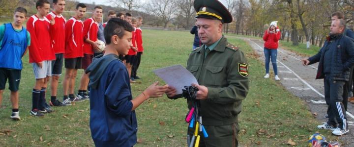В Попенках прошёл турнир по футболу