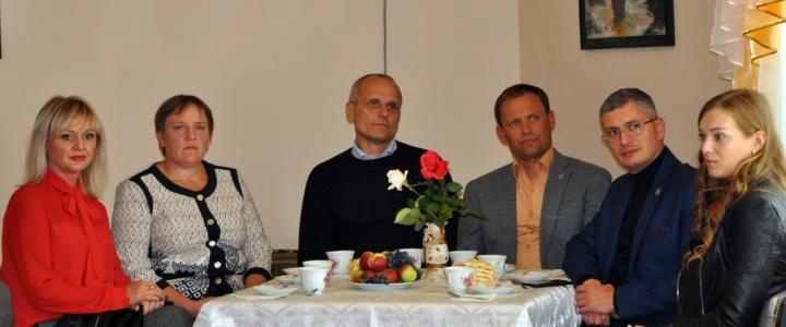 Вячеслав Фролов навестил подопечных Дома для одиноких престарелых и инвалидов