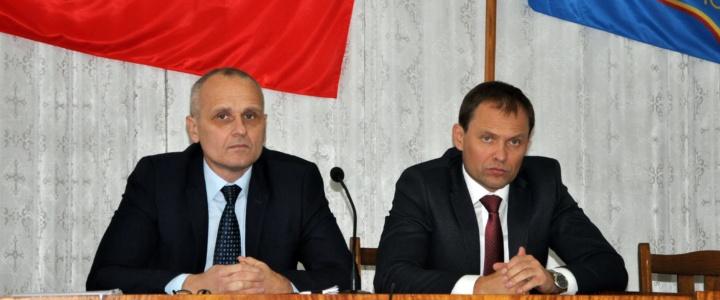 Вячеслав Фролов принял участие в сессии горрайсовета