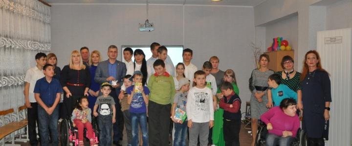 Воспитанники коррекционной школы представили свои творческие достижения