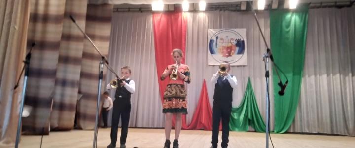Учащиеся районной детской школы искусств им.А.Г.Рубинштейна выступили в Воронково