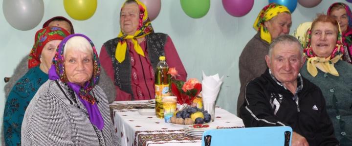 Праздничный вечер для представителей старшего поколения прошел в Строенцах