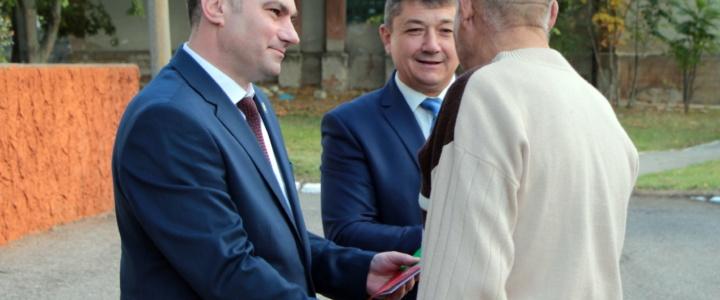 Глава района Виктор Тягай поздравил жителей Попенок с юбилеем села