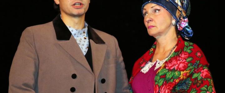 В Рыбнице состоялся премьерный спектакль в исполнении российских актёров