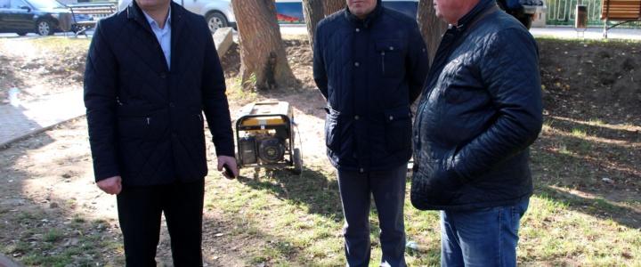 Виктор Тягай совершил еженедельный объезд города