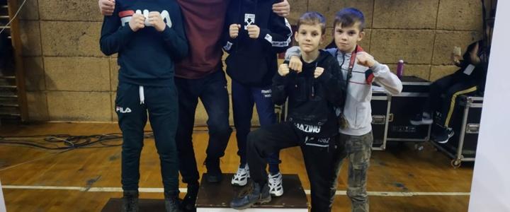 Рыбницкие кикбоксеры привезли награды с Кубка Европы