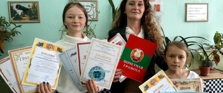 Рыбничанки победили в международном творческом конкурсе «Билингва»