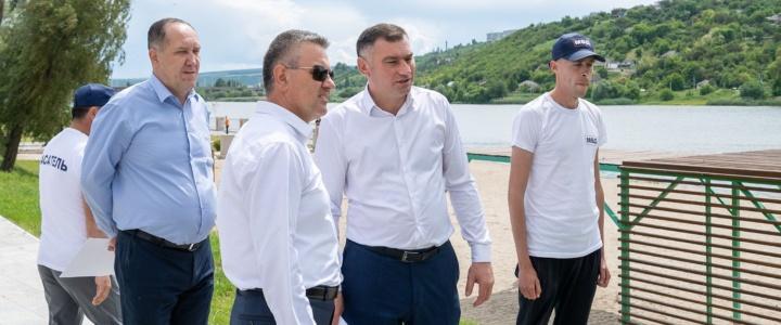 Продолжается рабочий визит Президента в Рыбницкий район