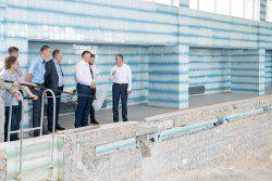 Президентская инспекция: ремонт спортивных объектов Рыбницы