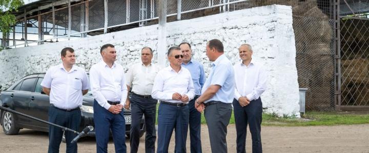 Общение Главы государства с аграриями Рыбницкого района