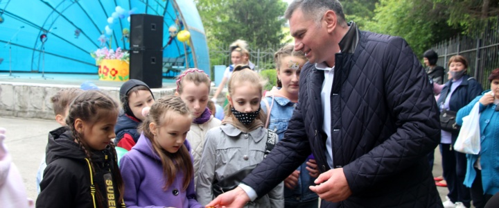 В Рыбнице прошли мероприятия, приуроченные ко Дню защиты детей