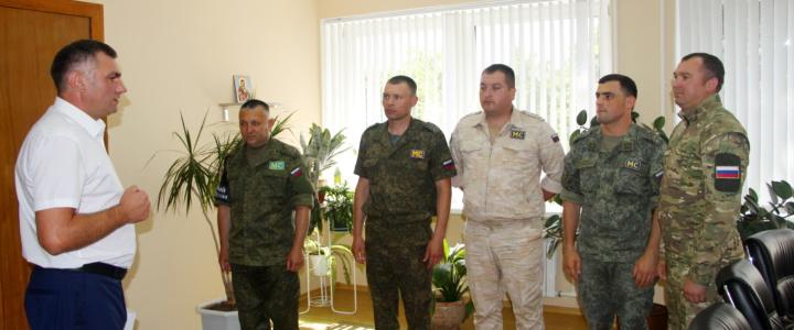 Глава госадминистрации поздравил миротворцев с профессиональным праздником