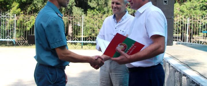 В Рыбнице прошло торжественное собрание, посвященное 30-й годовщине образования Гражданской защиты ПМР