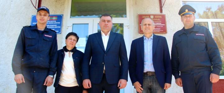 В селе Красненькое открыли опорный пункт