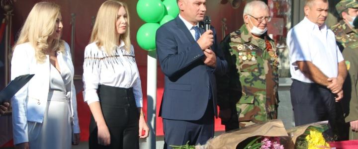 Глава госадминистрации поздравил школьников с Днем знаний