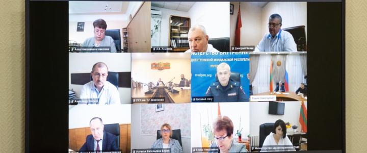 Рабочая дискуссия членов Оперштаба