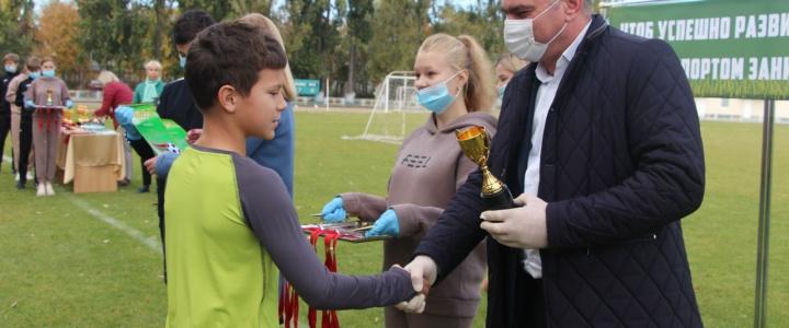 В Рыбнице наградили победителей турнира «Кожаный мяч»