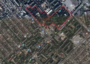 Карта Центральный парк