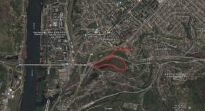 Карта парк горького