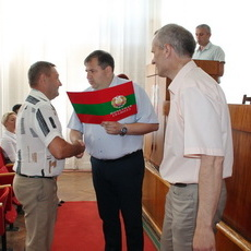Участников ликвидации последствий природной стихии чествовали в Рыбнице