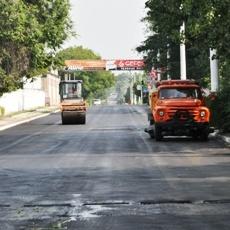 Дорожные работы по ул.Гвардейской завершаются