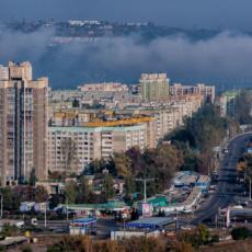 Атмосферная дымка над городом и районом не представляет опасности для рыбничан