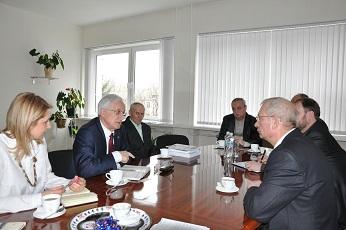 Вопросы обучения и воспитания молодежи обсудили на встрече Василий Малай и Степан Берил