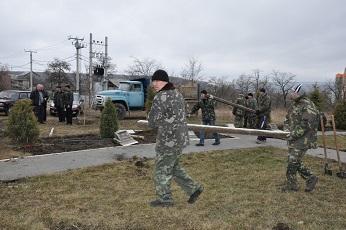 Начаты работы по строительству памятника защитникам Приднестровья и воинам-афганцам