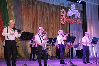 Накануне Международного женского дня в Рыбнице прошел праздничный концерт