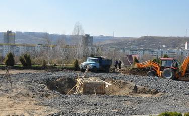 Строительство памятника воинам-афганцам и защитникам Приднестровья продолжается