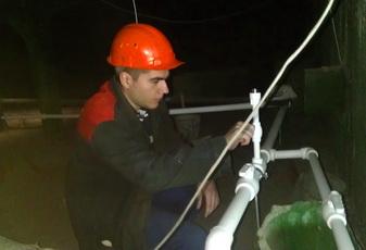 Продолжаются работы по капитальному ремонту инженерных сетей в многоквартирных домах