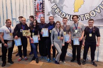 Рыбницкие спортсмены достойно выступили на чемпионате Приднестровья и Молдовы по пауэрлифтингу