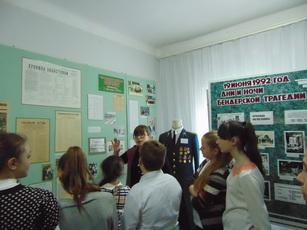 Рыбницкие школьники посетили музей боевой славы в день начала агрессии Молдовы против ПМР