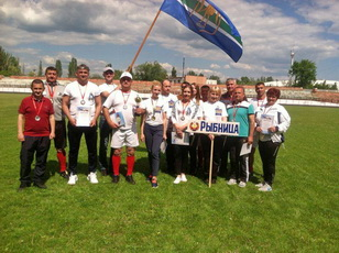 Команда Рыбницкой госадминистрации одержала победу в спартакиаде