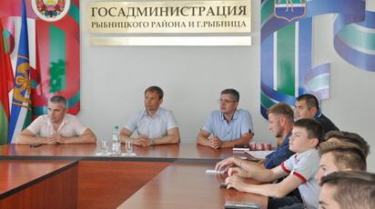 Глава госадминистрации встретился с рыбницкими спортсменами