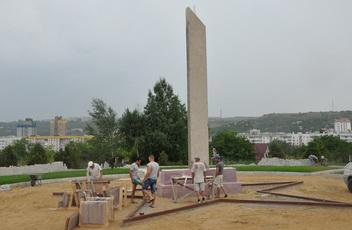 Для строительства памятника защитникам Приднестровья и воинам – афганцам доставили гранит