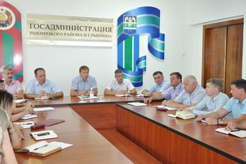 Вячеслав Фролов провел аппаратное совещание