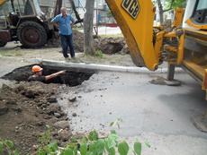 Жителям домов по ул.Ленина временно прекращена подача горячей воды