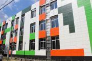 Отделочные работы здания школы № 6 на завершающем этапе