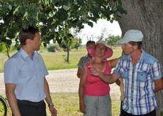 В селе Владимировка восстановлено автобусное сообщение