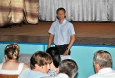 Глава госадминистрации посетил село Воронково