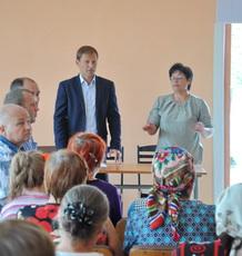 Глава госадминистрации встретился с жителями с. Броштяны