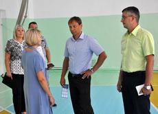 Глава города проверил готовность школ к учебному году