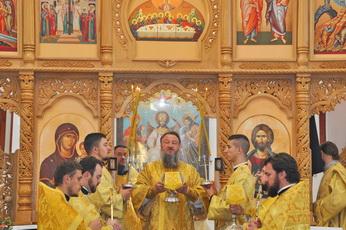 Архиепископ Савва совершил богослужение в храме с. Гараба