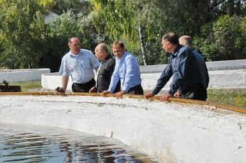 Глава госадминистрации проинспектировал объекты водоснабжения Рыбницы