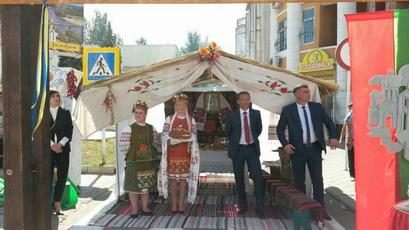 2 сентября Рыбница представила своё подворье на республиканской выставке